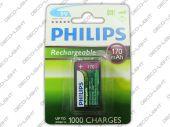 akumulator philips 9V Ni-MH 6F22 170mAh