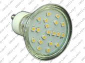 Żarówka GU10 LED SMD 1W 80lm barwa ciepła