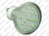 Żarówka GU10 LED SMD 1W 85lm barwa zimna