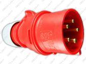 Wtyczka siłowa IP44 16A 3P+N+E - PCE