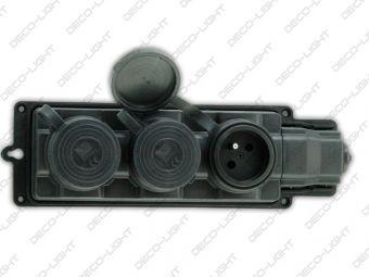 Listwa zasilająca Pawbol 3 x 250V IP44